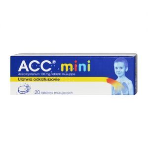 ACC mini (ACC 100), 20 tabletek