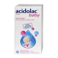 Acidolac Baby, krople doustne, 10ml