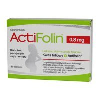 ActiFolin, 0,8mg, 30 tabletek