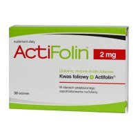 Actifolin, 2mg, 30 tabletek