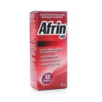Afrin ND, aerozol do nosa, roztwór 0,5mg/ml, 15ml