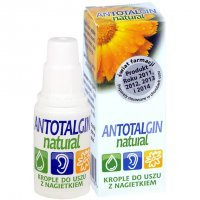 Antotalgin Natural, krople do uszu, 15g