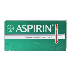Aspirin Bayer, 500mg, 10 tabletek