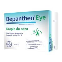 Bepanthen eye, krople do oczu, 20szt, 0,5ml
