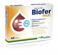 Biofer Folic, 40 tabletek