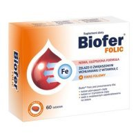 Biofer Folic, 60 tabletek