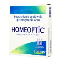 BOIRON Homeoptic, krople do oczu, 0,4ml, (10 minims.a 0,4ml )