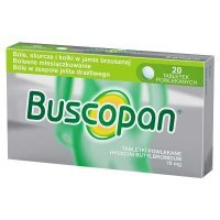 Buscopan, 10mg, 20 tabletek