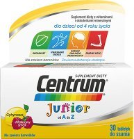 Centrum Junior od A do Z, 30 tabletek