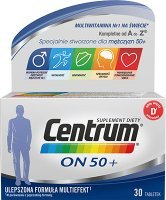 Centrum ON 50+, 30 tabletek