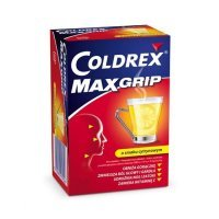 Coldrex maxgrip, lemon, 10 saszetek