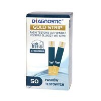 Diagnostic Gold Strip testpask. 50pask.