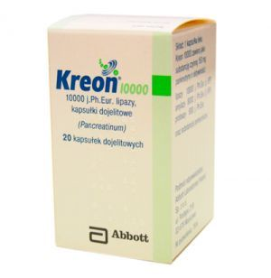 Kreon 10 000 kaps.dojel. 10000j.Ph.Eur. 20