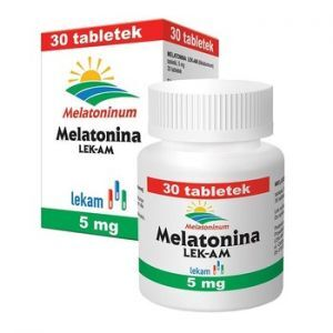 Melatonina tabl. 5 mg 30 tabl.