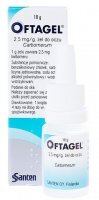 Oftagel żel do oczu 2,5 mg/1g 10 g