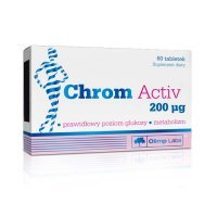 OLIMP, Chrom Activ 200 mcg, 60 tabletek