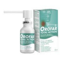 Orofar aerosol do  jamy ustnej * 30 ml