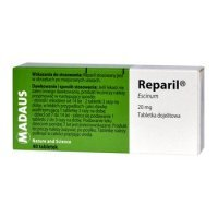 Reparil draż. 0.02 g 40 szt.             i