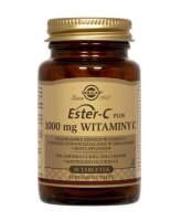 SOLGAR, Ester C-Plus witamina C 1000 mg, 30 tabletek