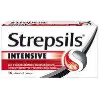 STREPSILS INTENSIVE  do ssania * 16 tabl.